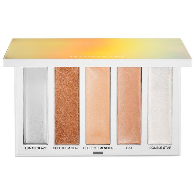 Sephora PRO Dimensional Highlighting Palette Warm 5 x 0.17 oz/ 5g