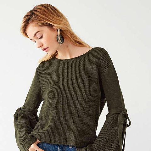 Justine Extreme Bell Sleeve Sweater