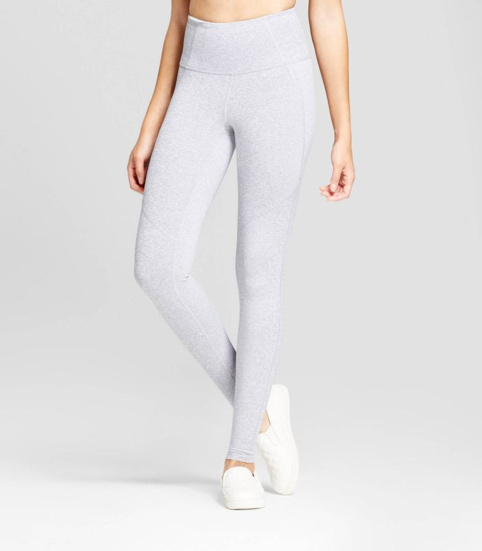 High Waist Mini Stripe Leggings by JoyLab
