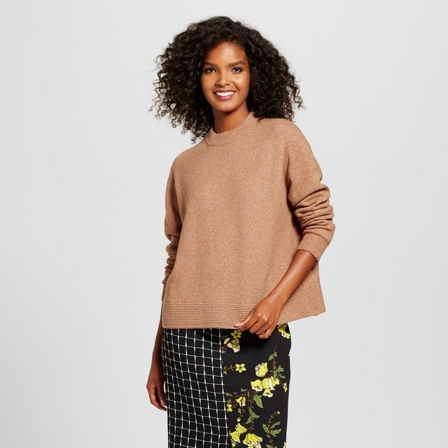 Cropped Ottoman Sweater