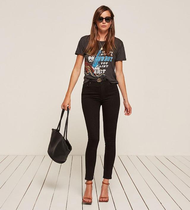 High & Skinny Jean