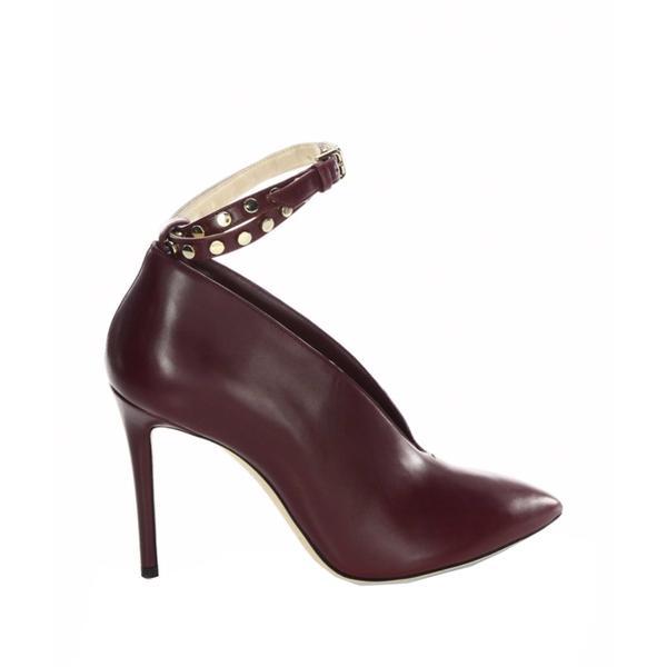 Burgandy Heel Boots