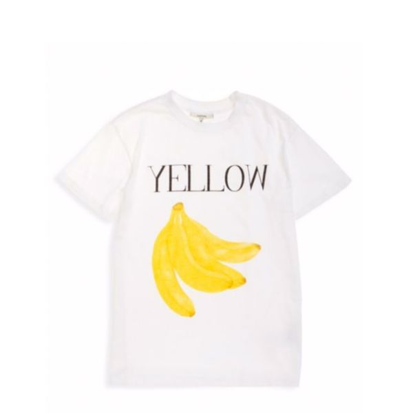 Ganni Harway Banana Cotton T-Shirt
