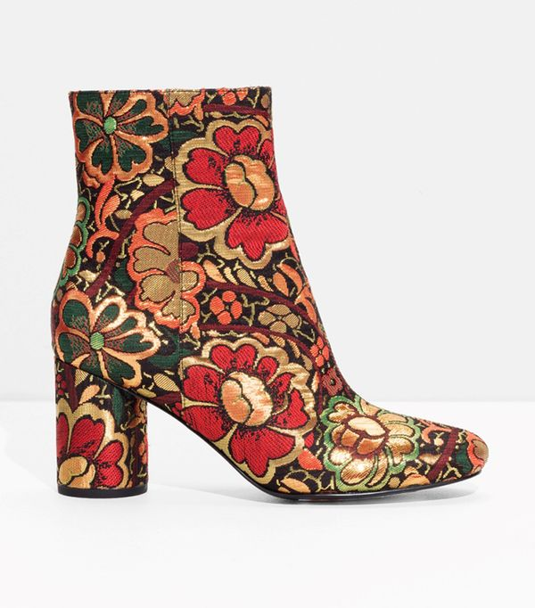 Bloom Jacquard Boots