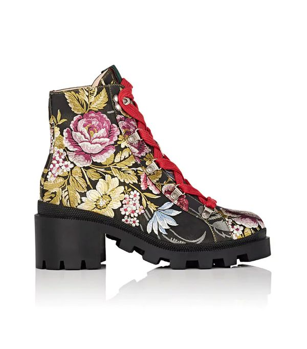 Trip Jacquard Ankle Boots