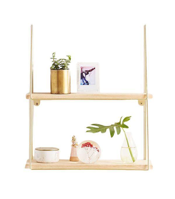 Kensie Wall Shelf - Bronze One Size at Urban Outfitters