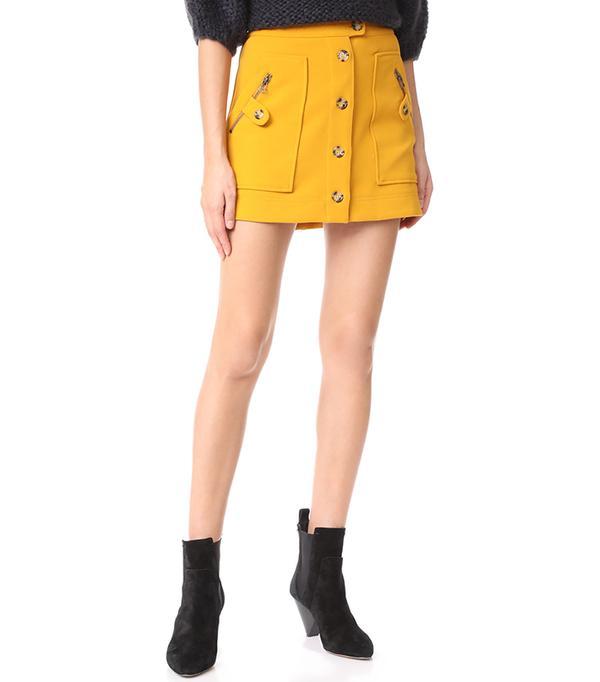 Monroe Cargo Miniskirt