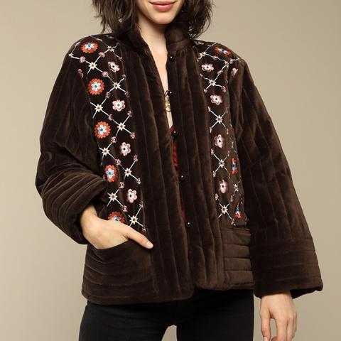 Augustine Velvet Jacket
