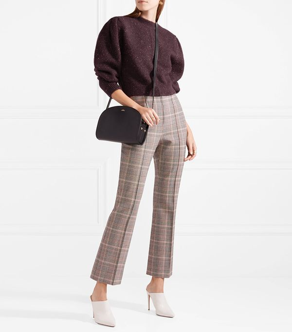 Elaya Cropped Knitted Sweater
