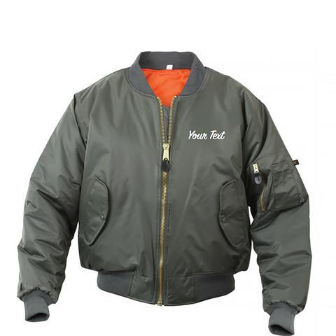 Personalized Custom Bomber Jacket