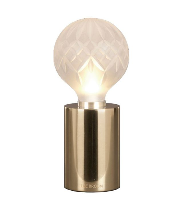 Lee Broom Frosted Crystal Bulb Table Lamp