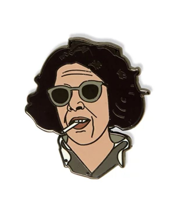 Inner Decay Fran Leibowitz Pin