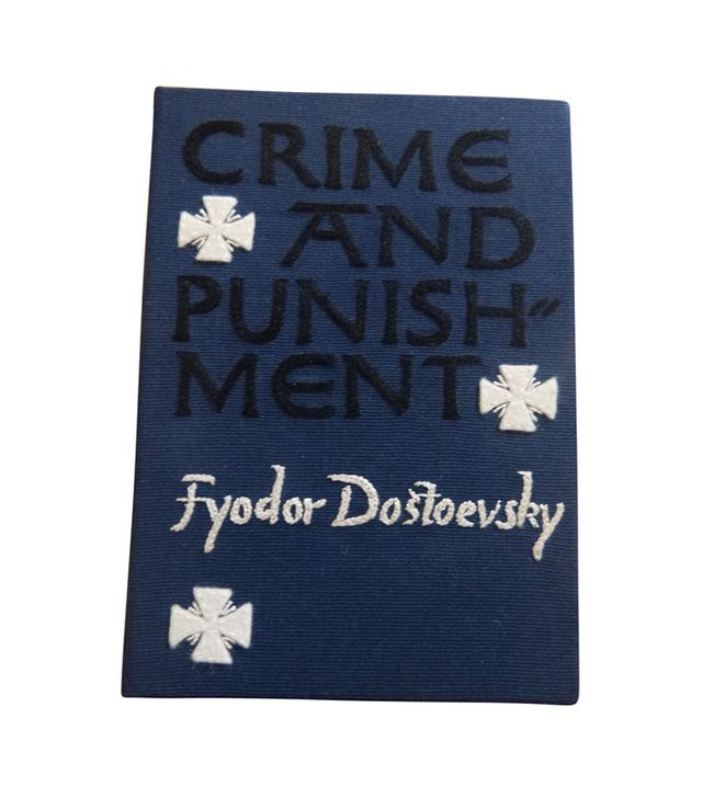 Olympia Le-Tan Crime and Punishment Cloth Bag