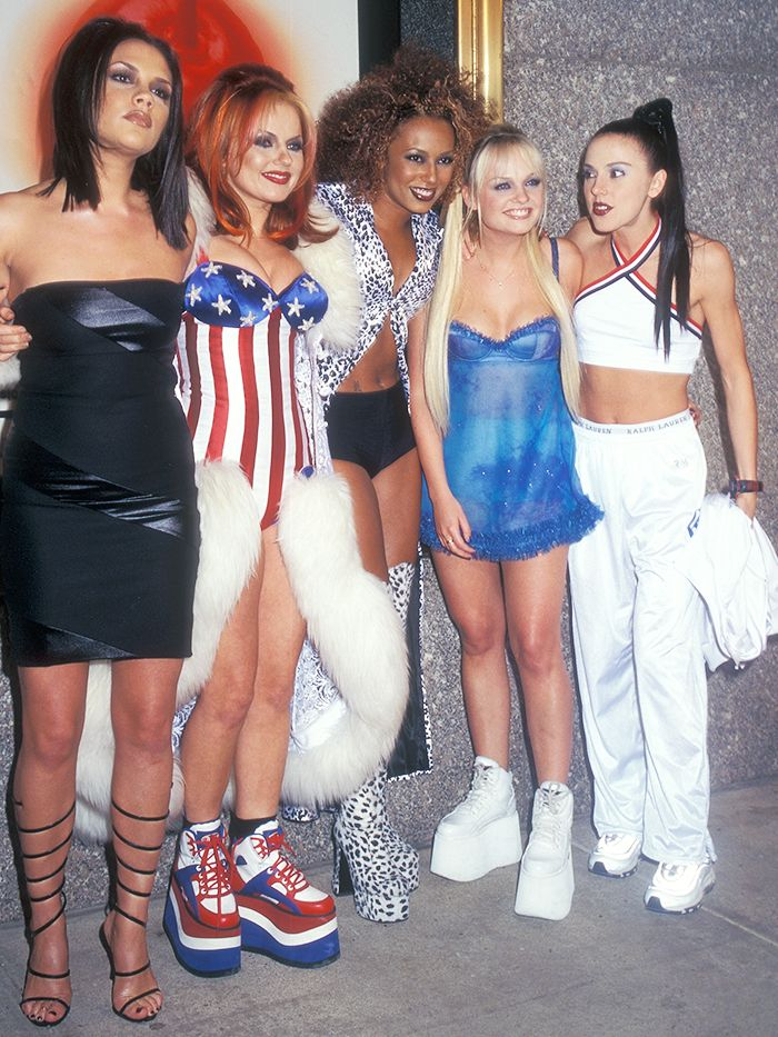 ganni platform sneaker: the spice girls