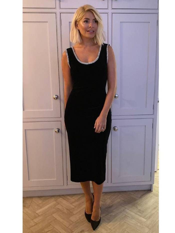Holly Just Wore the 7 Winter Dresses We Will Actually Wear This Season