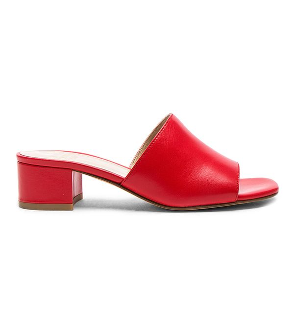 Maryam Nassir Zadeh Leather Sophie Slides