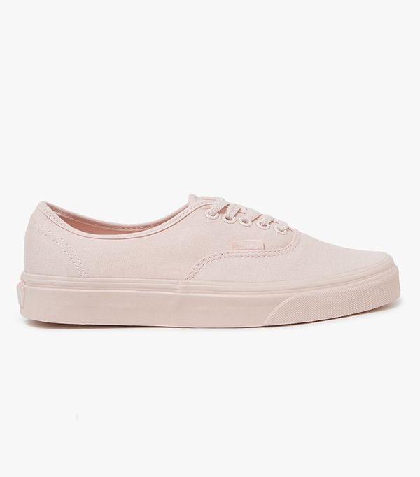 Vans Authentic Sneakers in Peach Blush