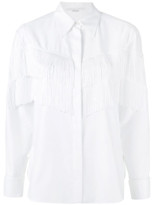 Alina fringe shirt