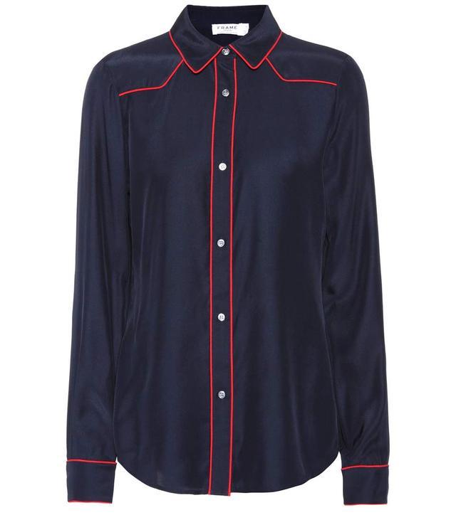 Frame Western Silk Shirt