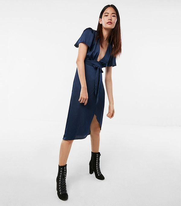 affordable wrap dress