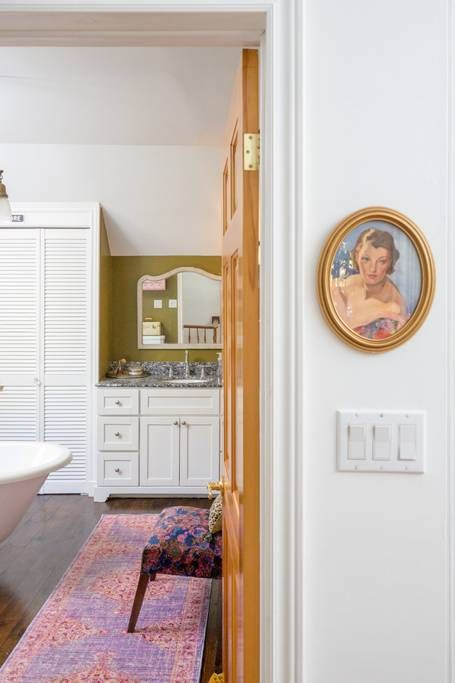 The home is full of color and intricate details.
