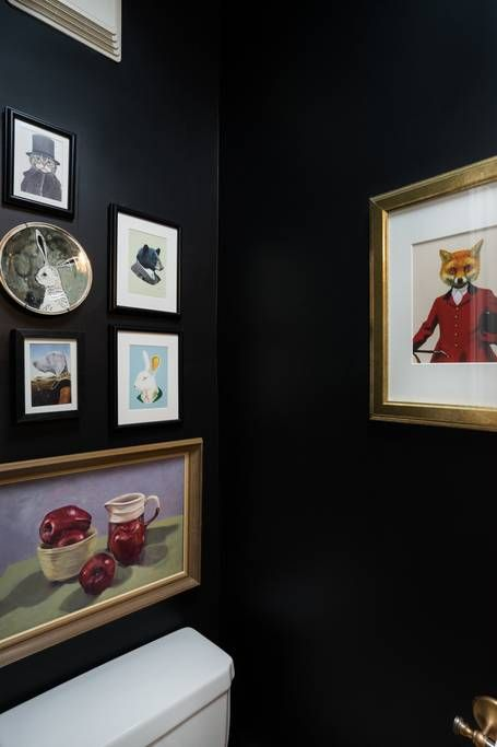 The home wouldn't be complete without an image from Fantastic Mr. Fox.