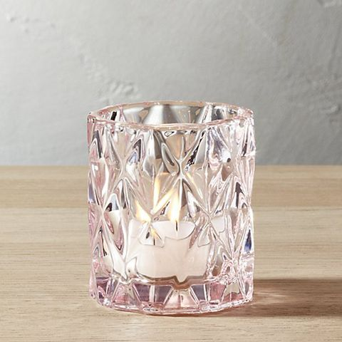 Betty Pink Tea Light Candle Holder