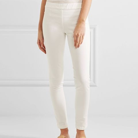 Stratton Stretch Cotton-Blend Leggings