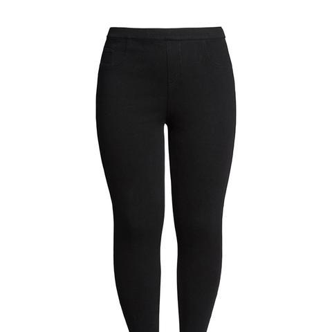 Plus Size Jean-Ish Leggings
