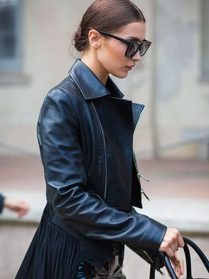 leather jacket - Fashion Trends and Celebrity Style | WhoWhatWear