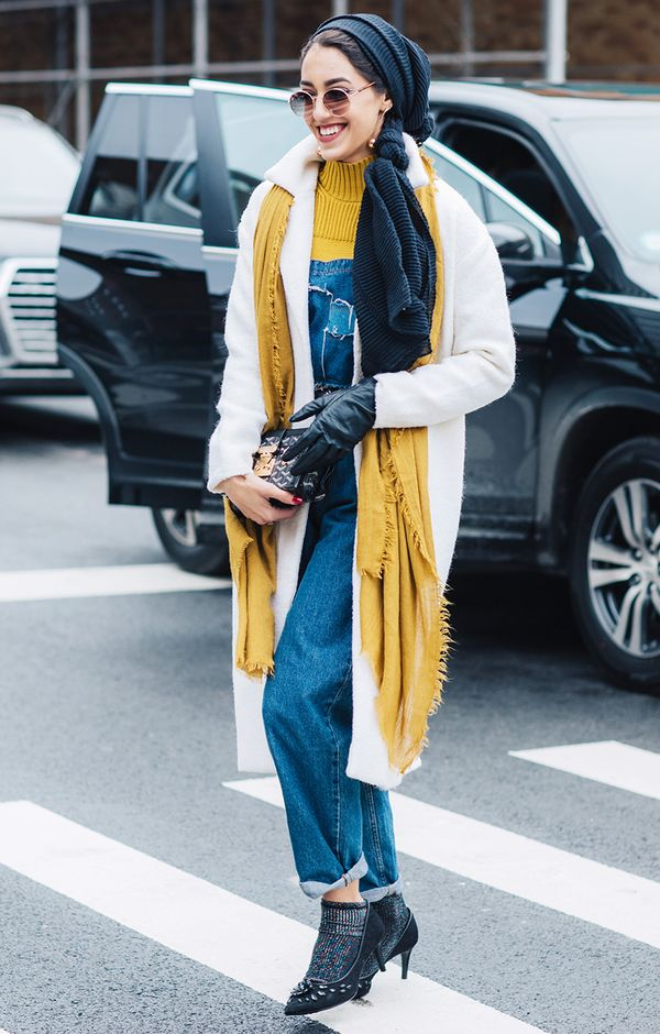 how to wear overalls fall