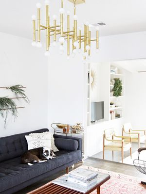 7 Living Room Light Fixtures That Look Splurge-Worthy (But Are Under $400)