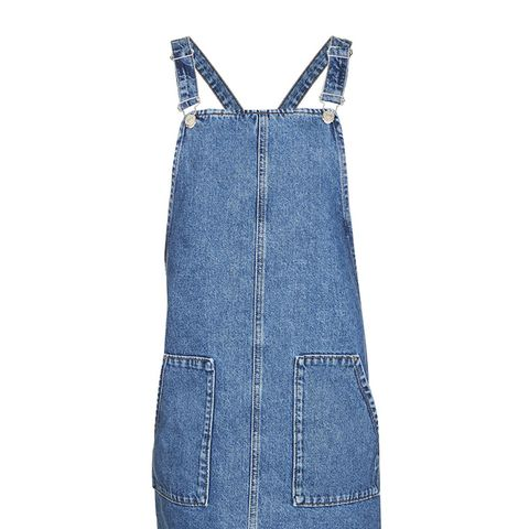 Tall Pocket Pinafore Dress