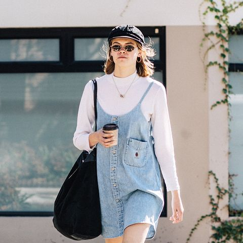 7 Stylish Ways to Wear a Denim Jumper