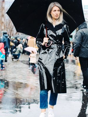 Rainy Day? Here's What Fashion Girls Wear
