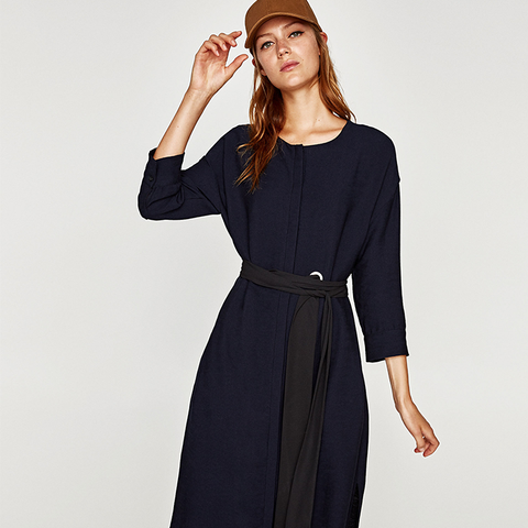 Long Tunic With Belt