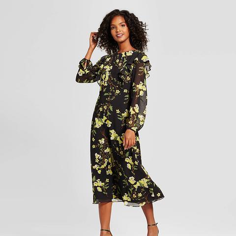 Flutter Shoulder Dress