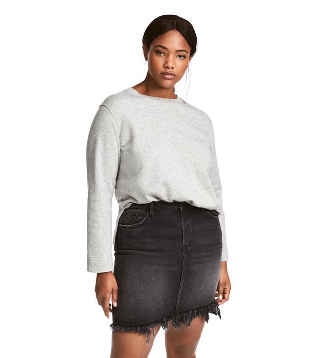 H&M Sweatshirt With Slits