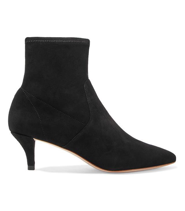 Loeffler Randall Kassidy Suede Sock Boots