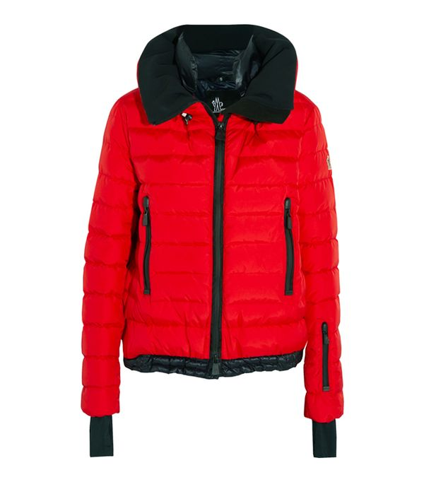 Best Ski Jackets: Moncler Grenoble Vonne Quilted Shell Down Jacket