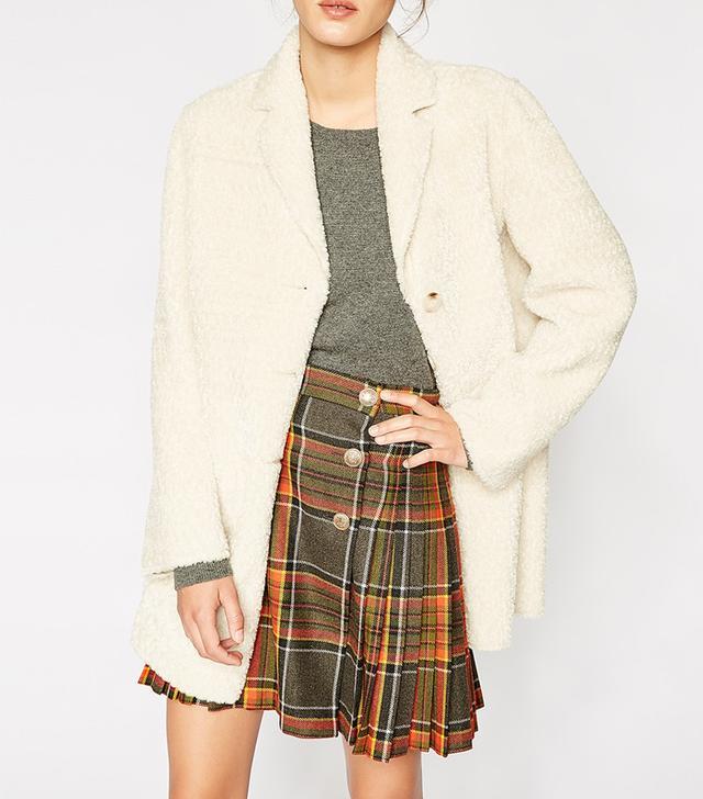 The Kooples Faux Fur Coat