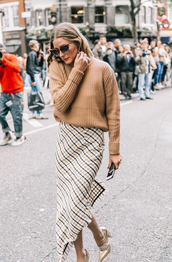 Midi Skirt + Sweater