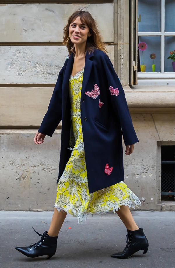 Summery Dress + Overcoat