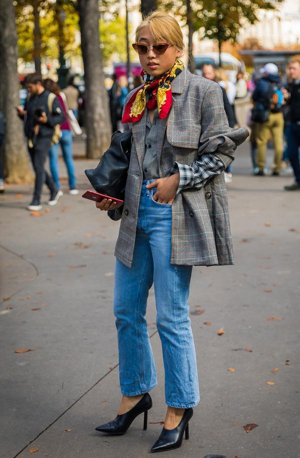 Light Jackets + Silk Scarves