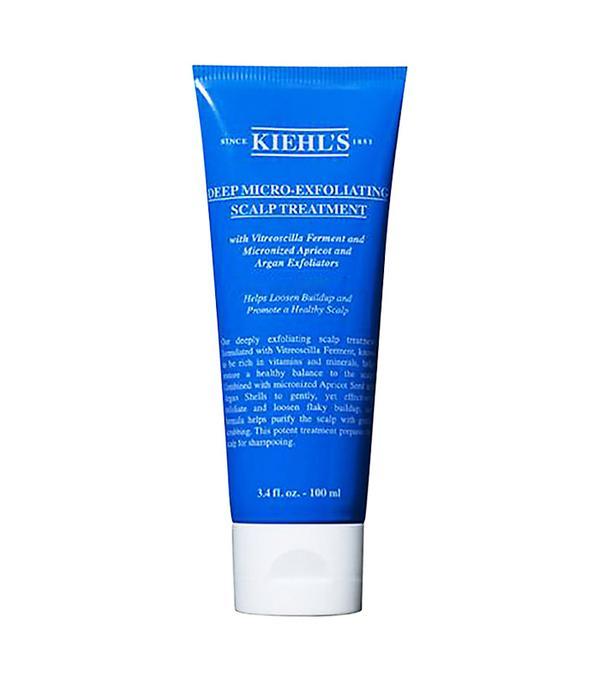 Best scalp scrub: Kiehl's Deep Micro-Exfoliating Scalp Treatment