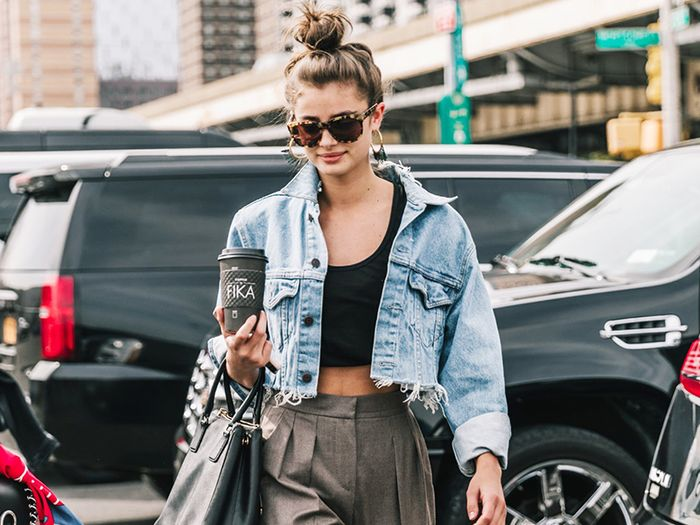 Every Fashion Girl Is Wearing Sneakers in This Surprising Way