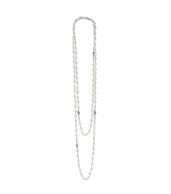 Women's Lagos 'Luna' Long Pearl Necklace