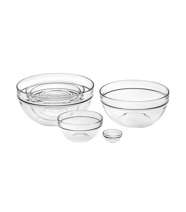 Williams Sonoma 10-Piece Glass Mixing Bowl Set
