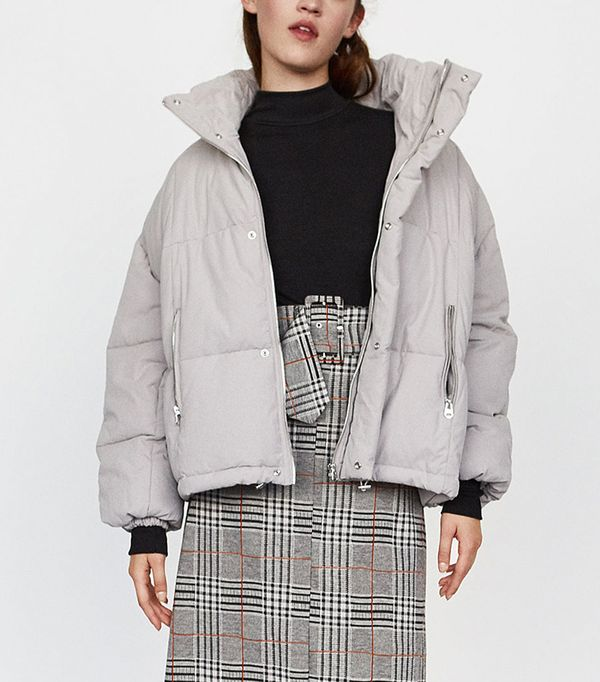 Zara Has the Coolest Winter Coats Right Now | WhoWhatWear