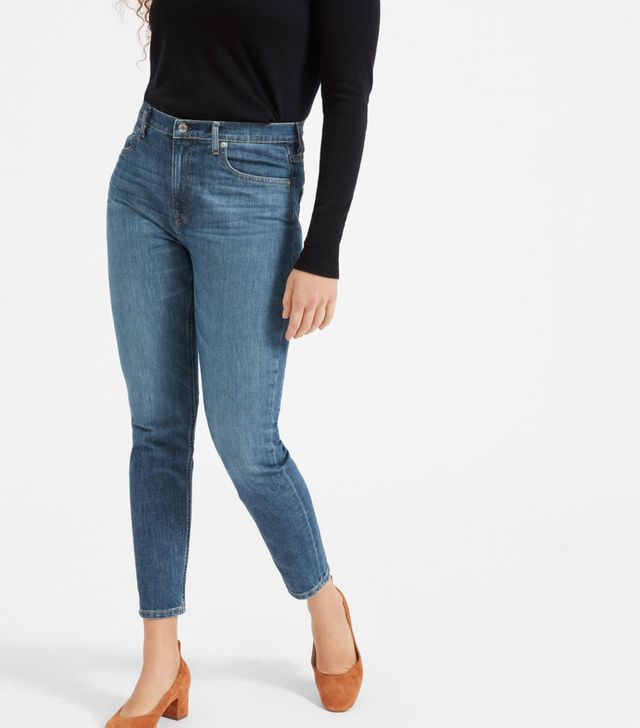 Women's High-Rise Skinny Jean (Regular) by Everlane in Mid Blue, Size 31